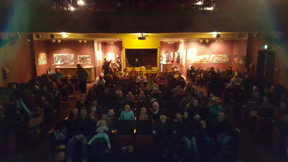 Crowd for Eddy Ray's Magic Show